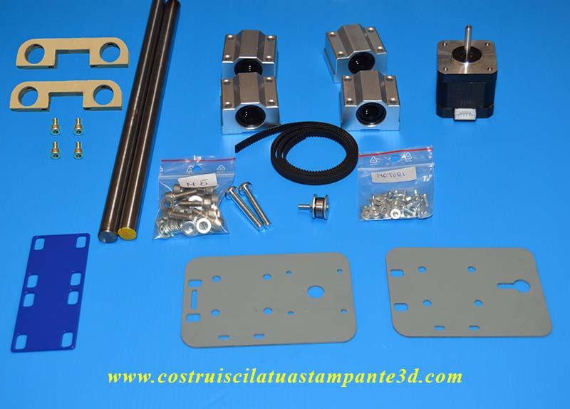 Materiale costruzione asse X stampante 3d 3dielle.jpg