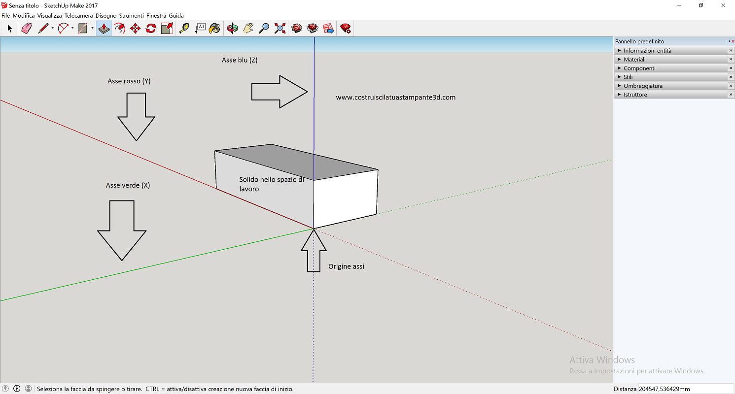 Sketchup stampa 3d template mm menu areadilavoro assi.png